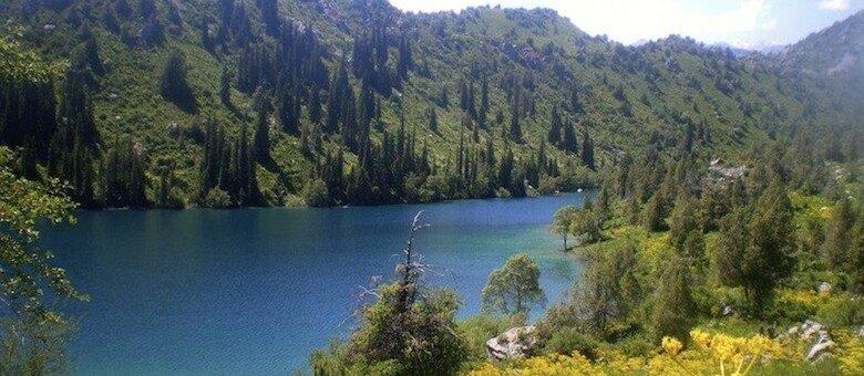 Lake-Sary-Chelek Kyrgyzstan